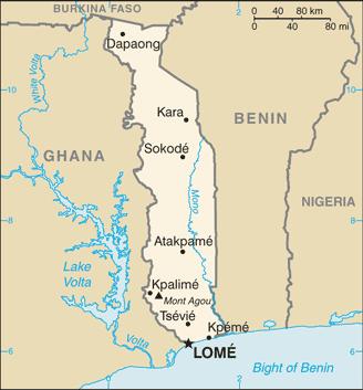 Mapo de Togolando